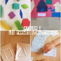 Atelier sur les formes géométriques !!!