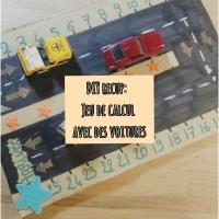 DIY : Un jeu de calcul avec les petites voitures !