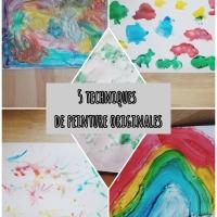 5 techniques de peinture que vos enfants vont adorer !