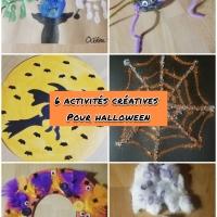 6 Activités créatives pour Halloween !!!